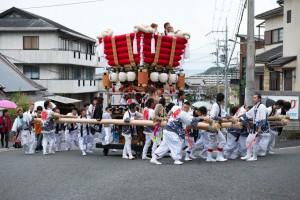 龍田大社秋祭り